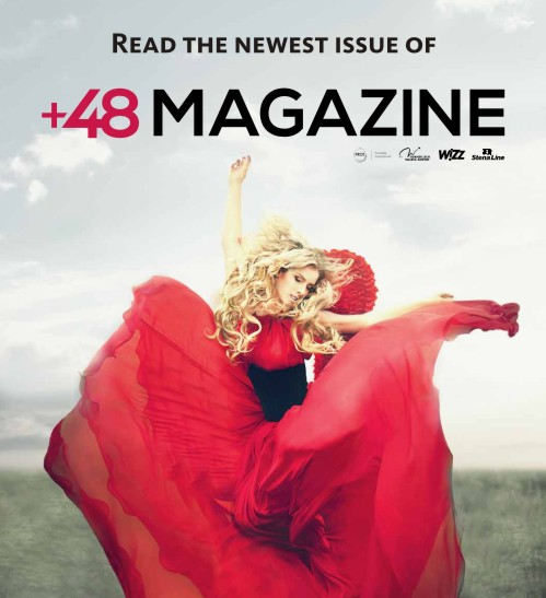 Check out the newest issue of +48 MAGAZINE